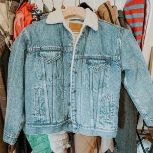 Levi's Ex-Boyfriend Sherpa Denim Trucker Jacket